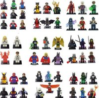 Wholesale Christmas Marvel Super Heroes Minifigures Classic Toys le Building Blocks go Sets Model Bricks Figures Avengers Mini