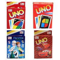 Wholesale 2016 Newest UNO Frozen Poker Card Family Fun Entermainment Board Game Kids Funny Puzzle Game UNO Card Board Games