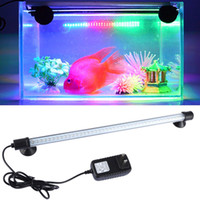 Wholesale High Quality Aquarium Fish Tank LED Decor Light Waterproof cm Submersible Light Strip Lamp