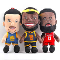 Wholesale Basketball Players Super Stars Plush Doll James Wade Courie Children Birthday Gifts Stuffed Toy Size quot cm