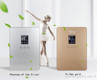 Wholesale Household Low noise Dehumidifier w ml D L water tank Tempered glass display screen LCD Smart air Dyrer