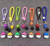 action flash cards - Cell Phone Pikaqiu Anime Action Lanyards For Phone MP3 MP4 Flash Drives ID Cards Key Chain Mobile Chain Straps Handbag Chains