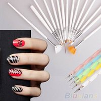 Wholesale Nail Art Beauty Nail Art Design Set Dotting Painting Drawing Polish Brush Pen Tools