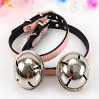 Wholesale Pet dog collar bells Large of pet cat collars bell pet collar dog necklace Cat Collars