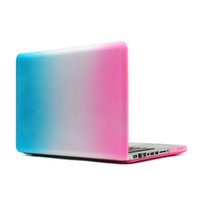 Wholesale Cases Dirt resistance Laptop Hard Case Covers Unibody Rainbow Cheap Laptop Covers for Macbook Pro A1278 L29 Cool