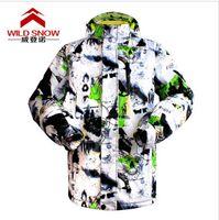 Wholesale Snowboard Jacket Men Warm Clothing Windproof Waterproof Outdoor Wear Ski Jacket Hooded Coat Winter Thermlity Outdoor Wear Suit