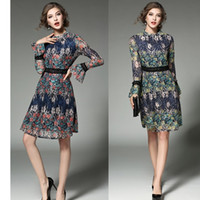 beach yellows business - Casual Dresses for Women Clothes Spring Summer Vintage Bodycon Party Plus Size Ladies Beach Floral Print Fashion Business Prom Dress New