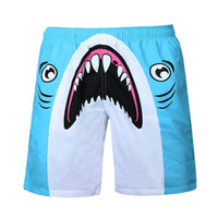 acrylic paintings trees - Raisevern New Funny D Shorts Mens Shark Tree Tiger Painting Print Elastic Waist Male Casual Joggers Shorts Plus Size Dropship