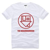 alternative band t shirts - New Summer The Neighbourhood T Shirt Men Tops Alternative Rock Band The NBHD T shirt Short Sleeve Cotton Tee T Shirts SL