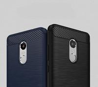 al por mayor caso trasero xiaomi-NUEVA cubierta suave de la caja del teléfono de TPU a prueba de choques para Xiaomi Redmi note 4 Azul rojo gris ultrafino simple de 1.4m m envío libre