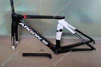 Wholesale Newest Argon18 T1000 black and white C Road bike UD carbon fibre bike frame fork seatpost headset XS S M L