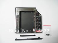 Aluminum asus esata - New SATA nd HDD SSD Hard Drive Disk Caddy Optical CD Bay Adapter for Asus K53SV