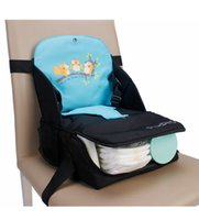 Wholesale Mmultifunctional Baby booster seat Feeding chair Infant Baby seats Maternity bag Infant toddler diaper bag Mummy bag in