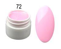 Wholesale Pot ml Pure Color UV Nail Gel Polish Extension Professional Nail Gel Art Decorations Tools Manicure DIY A66072