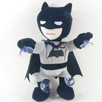 Wholesale Christmas Gifts Electronic Plush Toys Pets Cartoon Spiderman Batman Dolls with Chuck Climbing Wall Dancing Singing Toys Kids Children Gifts