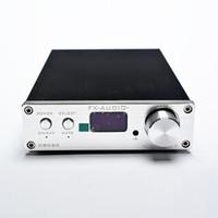 Wholesale x audio d802c FX Audio D802C Wireless Bluetooth Version Input USB AUX Optical Coaxial Pure Digital Audio Amplifier Bit KHz W W O