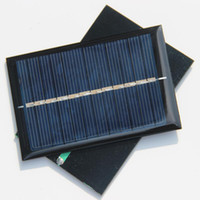 small solar panel - Solar Panels V mA W Mini Solar Cell x60MM For Small Power Appliances DIY Panel Drop Shipping