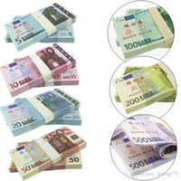 Wholesale 5 Euro Notes Training Collect Learning Banknotes Paper Money