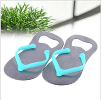 Wholesale Wedding Party Favor Gift Household Supply Flip Flop Beach Thong Bottle Openers Slippers Design Beer Bottle Opener