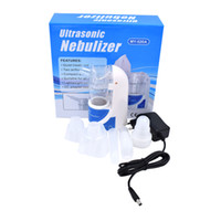 Wholesale 110V V home health care portable nebulizer Portable Ultrasonic Atomizer Household Inhaler for child and adult