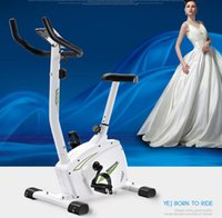Wholesale Magnetically controlled home gym Mute Dynamic cycling indoor and outdoor cycle bicycle exercise bike for christmas gifts