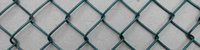 Wholesale Galvanized Iron Wire Anti Climb Barbed Wire on Top with Chain Link Wire Fence For Garden Park security