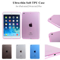 Wholesale Ipad Pro inch TPU Case Ipad Air back cover case for ipad mini4 fully wrapped soft gel skin cases mulit dustproof
