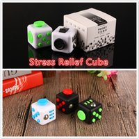 big function - Multi function Stress Relief side Fidget Cube Reduce Pressure For Family Adults Kids Colors