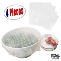 Wholesale Silicone Seal Bowl Covers and Food Stretch Lids Reusable Keep Food Fresh Plastic Wrap for Environmental Kitchen Tools Set of