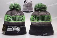 beach boys style - 17 Styles Seahawks beanies Team Hat Winter Football Beanie Popular Seattle Beanie Caps Skull Caps Best Quality Sports Caps Allow Mix Order