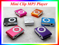 Wholesale Colorful Mini Clip MP3 Player without Screen Support Micro TF SD Card Cheap Sport Style Mini MP3 VS MP4 Player