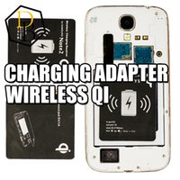 Wholesale Wireless charging receiver for QI standard NOTE NOTE S3 S4 S5 wireless universal charger adapter hot sale v A wireless power charger