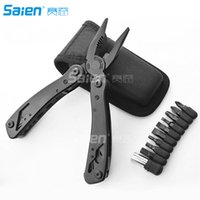 Wholesale High Quality compact sport folding pliers Home tool set clamp multi function pliers Multi purpose cutter outdoor tools