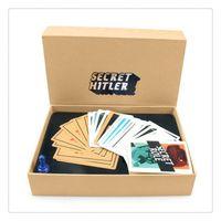 big board games - SECRET HITLER Games previously elected NEW president chancellor Card Kickstarter Edition Board Game Party cards