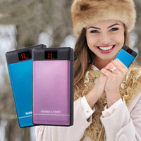 Wholesale mAh External Power Bank Backup USB Battery Charger Portable Practical Winter Hand Warmer Fashion High Quality Hot Sale