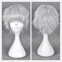 affordable fashion tops - Fashion Top Short Straight Wig Synthetic Hair Cosplay Party platinum blonde hair Wigs Fashion Affordable Synthetic Hair Wigs