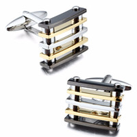 Wholesale New Arrival Plated Color Plain Metal Everlasting Shiny Men Fashion Jewelry Cufflinks For Men French Shirt Dress Jewelry