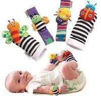 2000pcs Nouvel arrivage sozzy Wrist rattle pied finder Bébé jouets Baby Rattle Chaussettes Lamaze Baby Rattle Chaussettes et des bracelets Expédition rapide