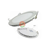 88LM/W 120 FCC Recessed downlight LED ceiling panel lights dimmable 3w 6w 9w 12w 15w 18w led panels round square indoor lighting Led downlights ac85-265v