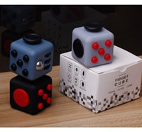 Wholesale 100 Stress Relief Stocking Stuffer Toys Fidget Cube Anxiety Attention Magic Fidget Fun Cubes