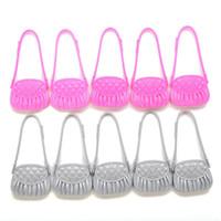 babydoll accessories - 10 Babydoll Shoulder Bags Kids Toy Cute Dolls Accessories Bag Shaped Kids Toys