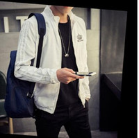 Wholesale The new autumn outfit men s crown collar jacket Leisure cardigan fashion