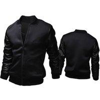 Wholesale 2017 spring New Slim zipper Male coat