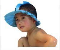 american standard shower - Upgrade Baby Shampoo Cap New Children Bath Hat Eyes Protection Health Shampoo American Standard