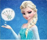 atm accessories - Frozen Elsa Snowflake Hairpin bodkin Cosplay blue Crystal Jeweled Hair Clip Pins Accessories Women Lady Girl Women bridal wedding ATM