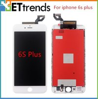 Wholesale For iphone S S Plus with D Touch Display Screen Digitizer Assembly Replacement Dust Mesh Installed Free DHL