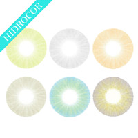 Wholesale New Arrival Fresh Color Contact Lenses Hidrocor Contacts without Limbal Ring Ready Stock