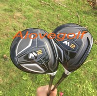 al por mayor calles de golf-Palos de golf de alta calidad M2 golf fairway woods 3 # 5 # con eje de grafito TM1-216 rígido o regular