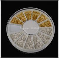 Wholesale wheel Tiny Circle Bead Decoration D Nail Art Caviar NR WS23