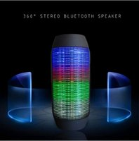 audio stream player - Factory directly selling Y35 wireless bluetooth mini streaming colorful LED lights high quality with retail box speaker